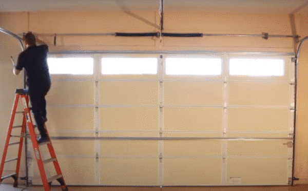 How to Level a Garage Door