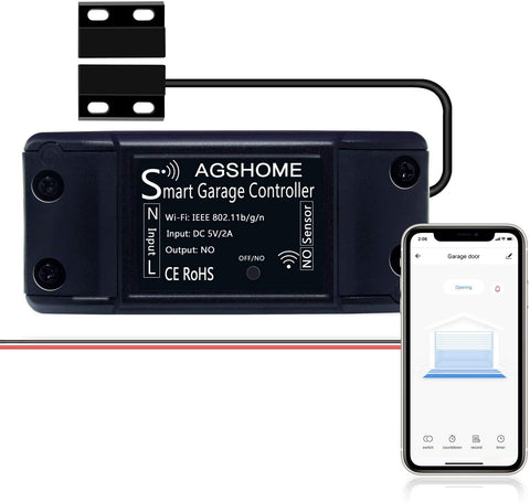 AGSHOME Smart Wi-Fi Garage Door Opener