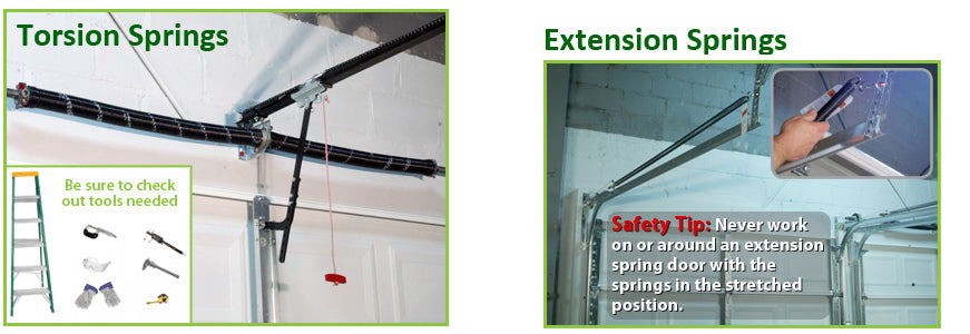 Superior ᐅ How To Convert From Extension Springs To Torsion Springs [EASY] | Garage  Door Nation