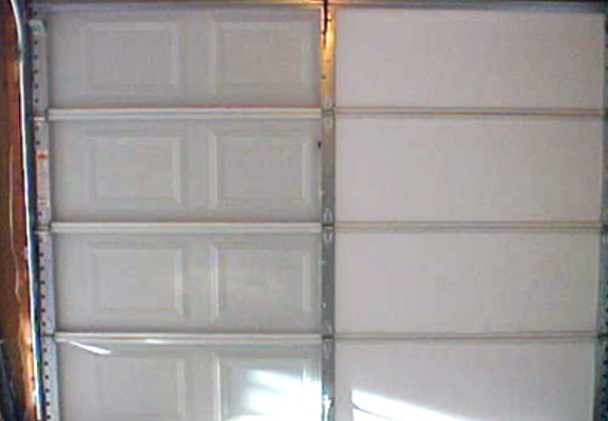insulating garage single insulation image lowes panel panels a door