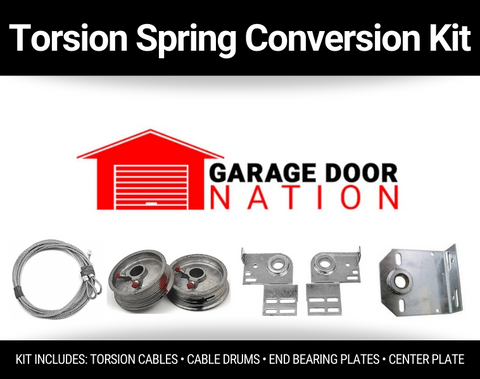 garage door torsion spring conversion kit