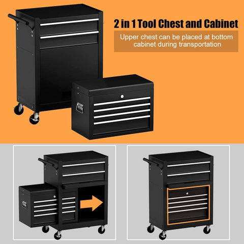 goplus rolling tool chest