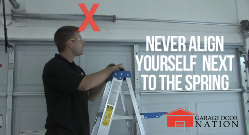 Garage Door Spring Replacement Guide How To Tutorial Garage Door