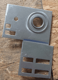 Garage Door End Bearing Plates Pair