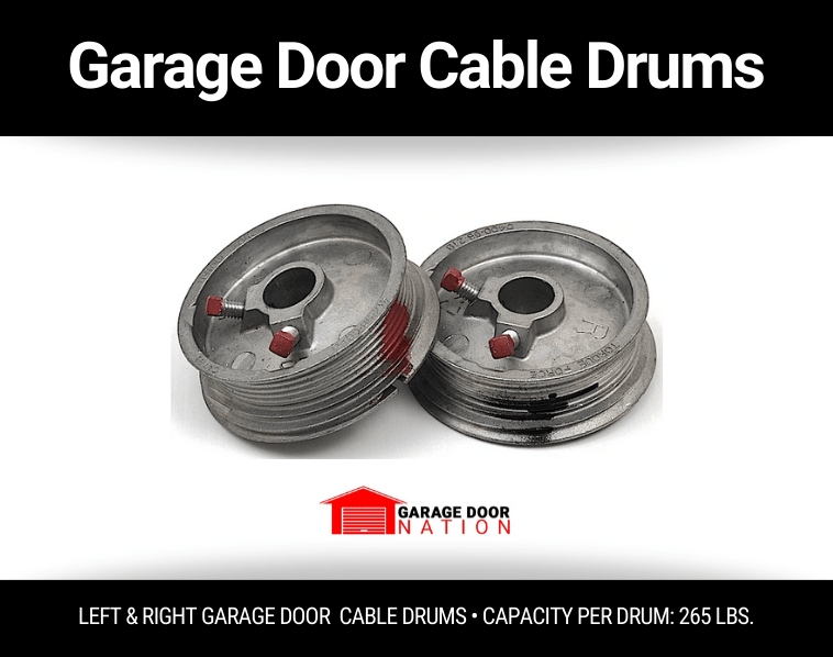garage door cable drums