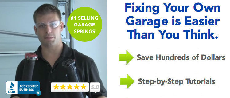 garage door nationGarage Door Springs  How to Replace 2017 UPDATE