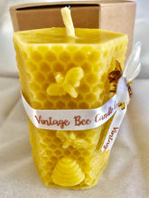 Load image into Gallery viewer, Natural Beeswax Pillar Candle - 100% Pure Beeswax | UK - Beeswax Wraps