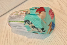 Load image into Gallery viewer, Cat Pet Food Tin/Jar/fridge pack beeswax wrap Covers x 2 | Re-usable | eco friendly | organic cotton - Beeswax Wraps