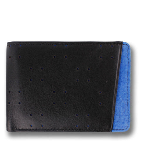 Orchill AV1 Wallet in Black Blue at 42 Saint