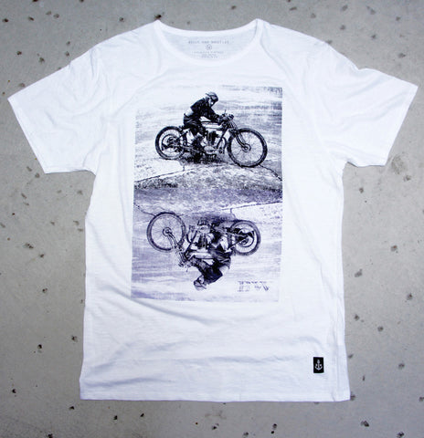 Bells & Whistles Moto Tee at 42 Saint