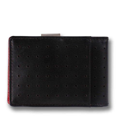 Orchill Concord Wallet in Black+Red at 42 Saint