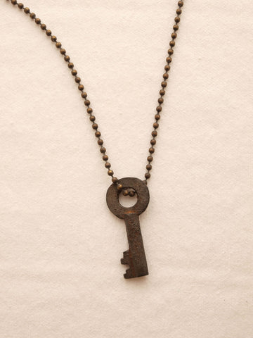 Deconstructed Old Key Necklace at 42 Saint