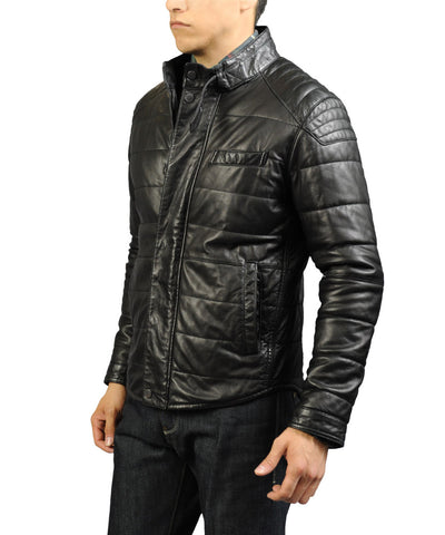 Jeremiah Ace Leather Jacket at 42 Saint