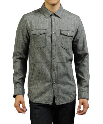Jeremiah Gray Shirt Jacket Metal at 42 Saint