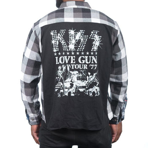 Jack Of All Trades Kiss Love Gun Vintage Rocker Shirt at 42 Saint
