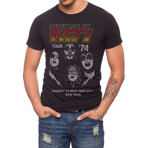 Jack Of All Trades Kiss Tour '74 Tee at 42 Saint