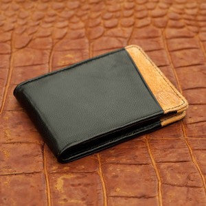 Orchill Micro Wallet in Black & Orange at 42 Saint
