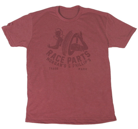 Red Barn Ranch M & P Race Parts Tee at 42 Saint
