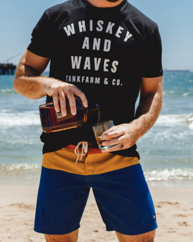Tankfarm Whiskey & Waves Tee at 42 Saint