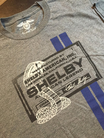 Wicked Quick Shelby Cobra Nameplate Tee at 42 Saint