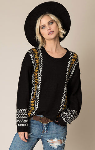 White Crow Night Sky Sweater at 42 Saint