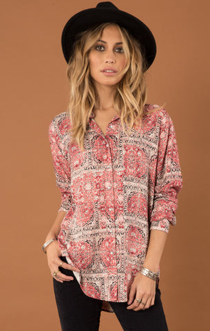 White Crow Appaloosa Blouse at 42 Saint