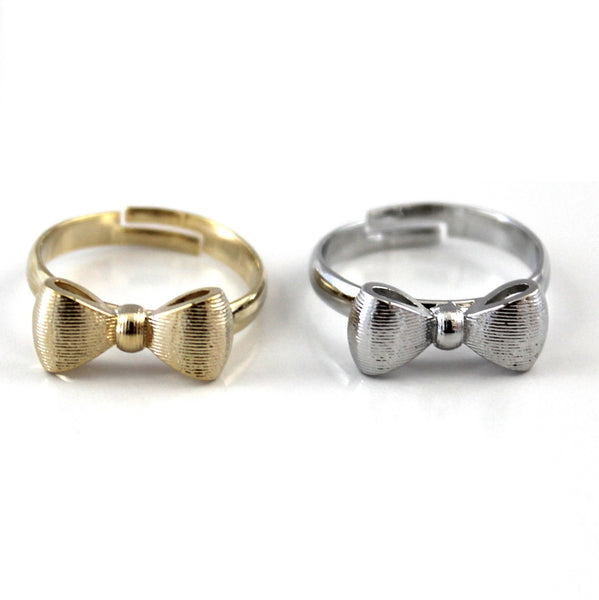 Metal Bow Ring