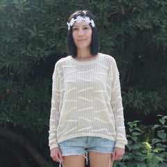Over-sized Knit Sweater