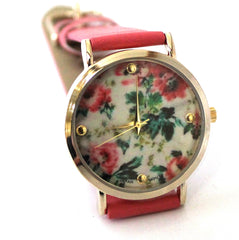 Coral Floral Watch