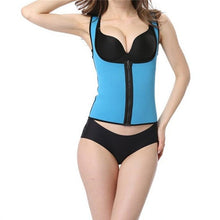Load image into Gallery viewer, blue waist training vest