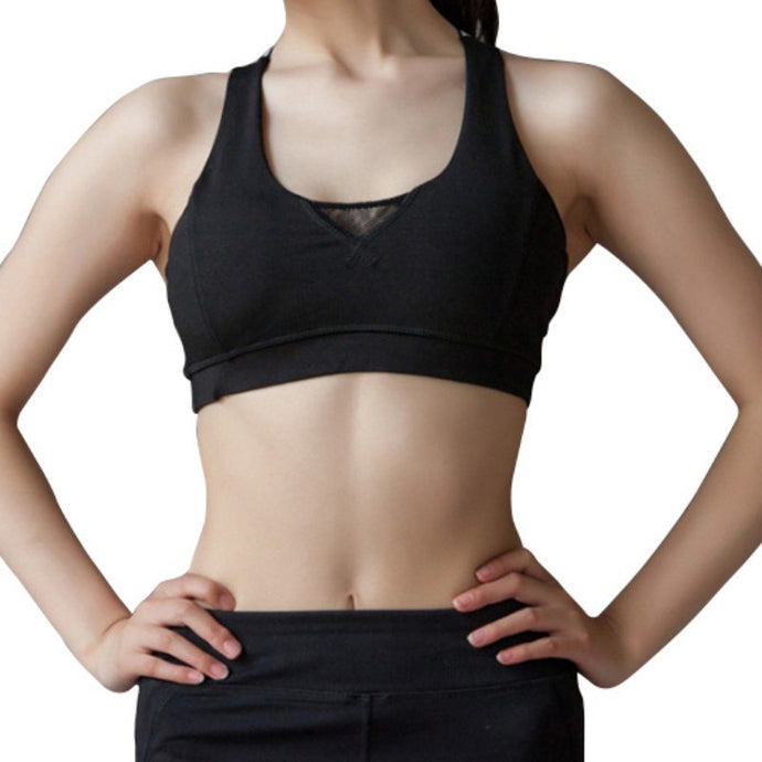 crop top yoga bra