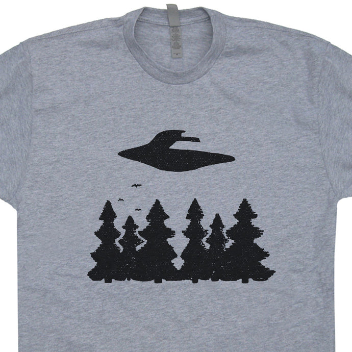 Cool UFO and Aliens Tee
