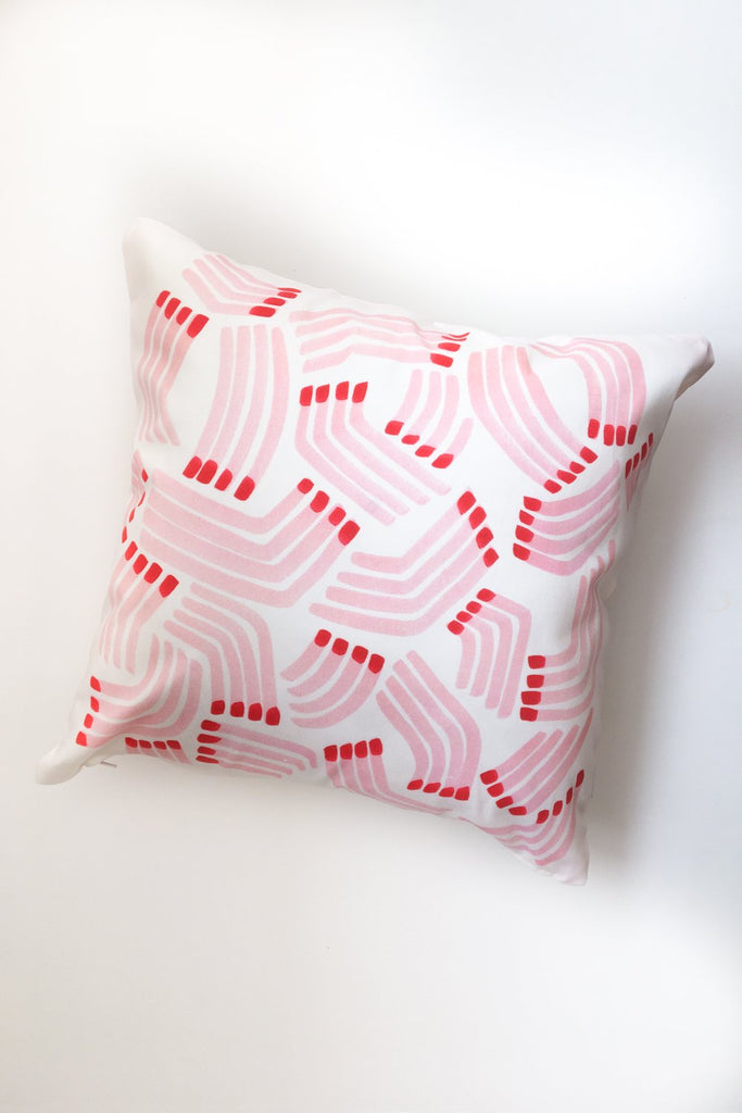 Matchsticks Pillow Cover