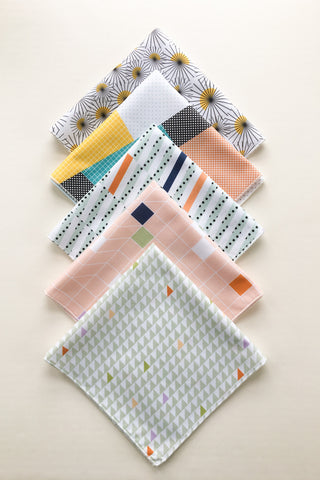 Set of 5 Handkerchiefs