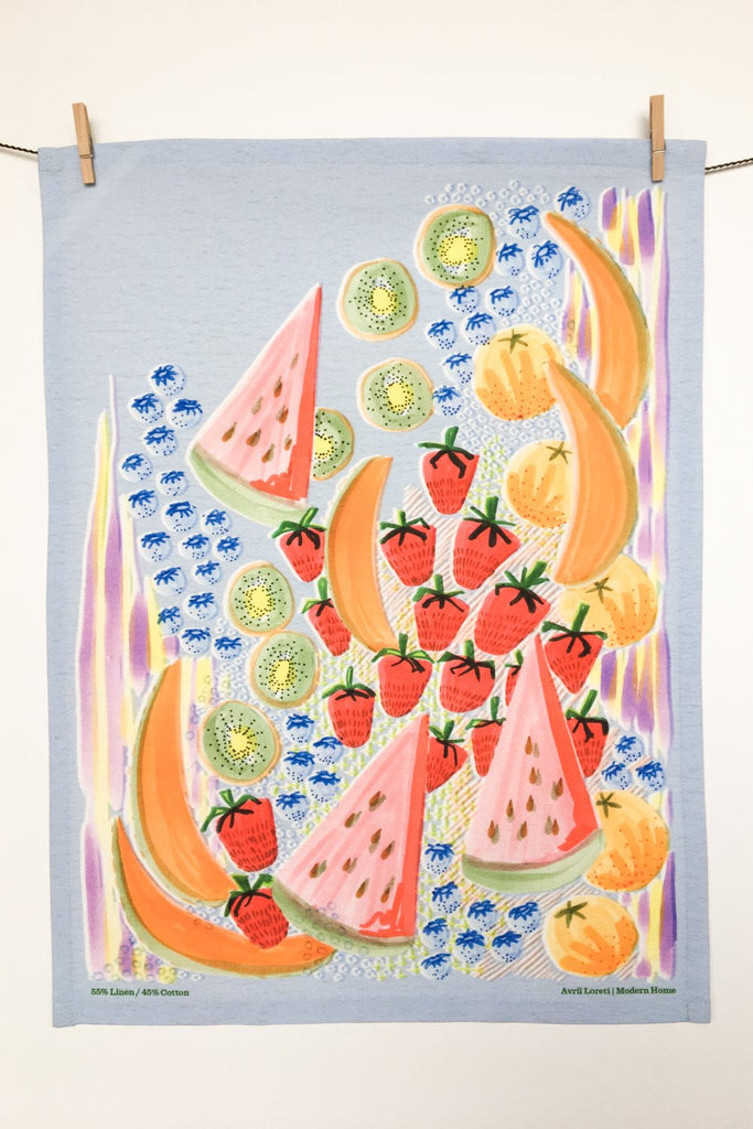 Fruit Salad Tea Towel