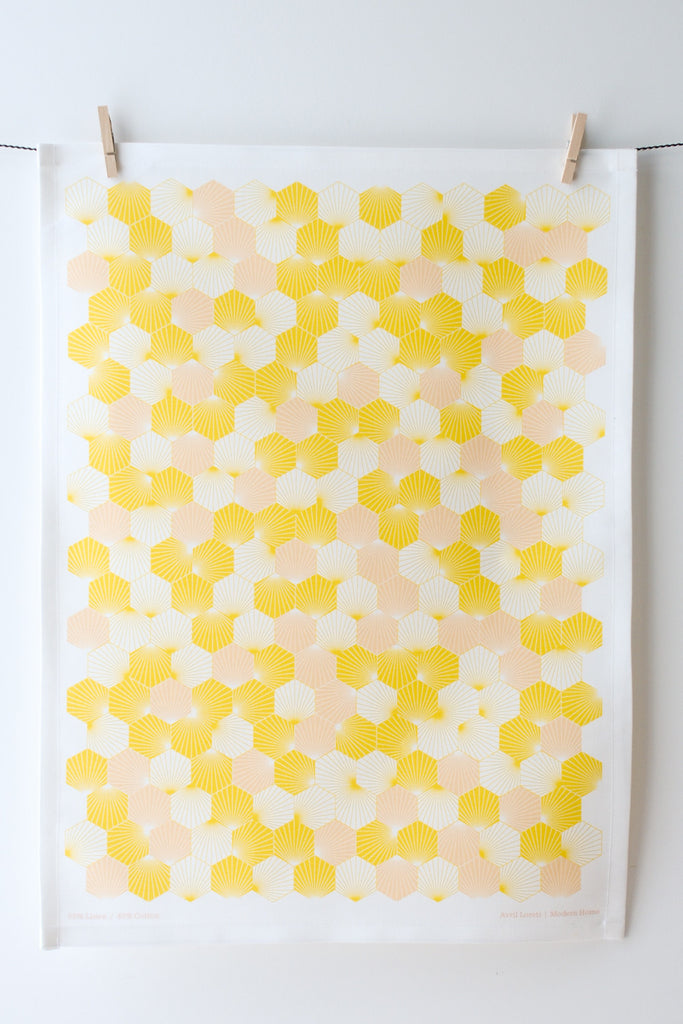 Hex Tea Towel