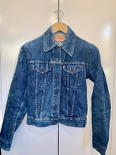 Load image into Gallery viewer, Tribe Vintage Denim Jacket - Blue