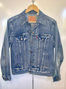 Tribe Vintage Denim Jacket - Blue