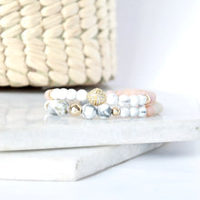 Load image into Gallery viewer, The Glow Up Bracelet - Pink Moonstone