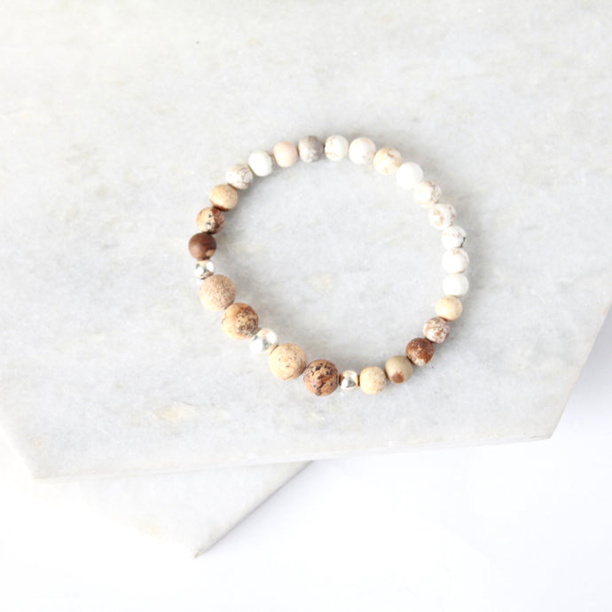 All for Mankind  - Sand Jasper & Sterling Silver
