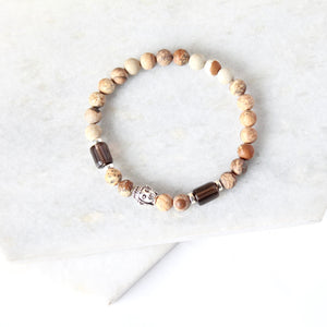 What Brings You Calm - Buddha & Sand Jasper