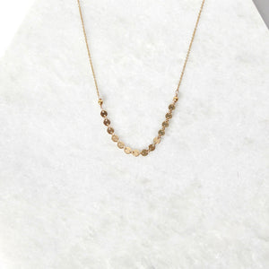 Kai Coin Short Necklace