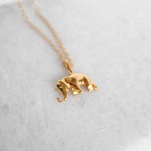 Elephant Strength Necklace