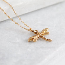 Load image into Gallery viewer, Changes Dragonfly Necklace