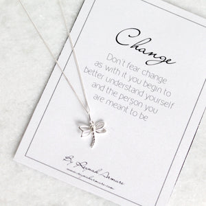 Changes Dragonfly Necklace