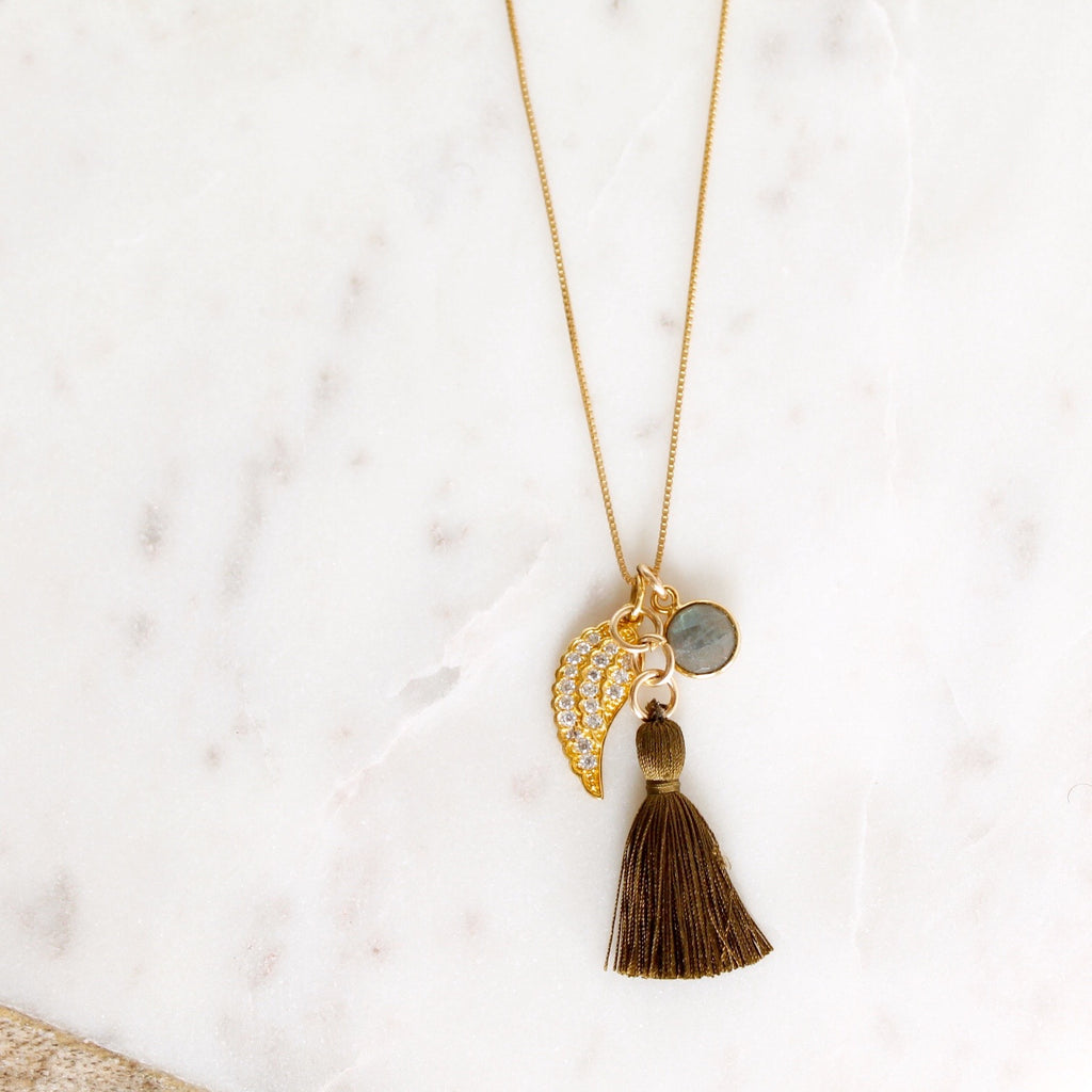 Clara Tassel Necklace