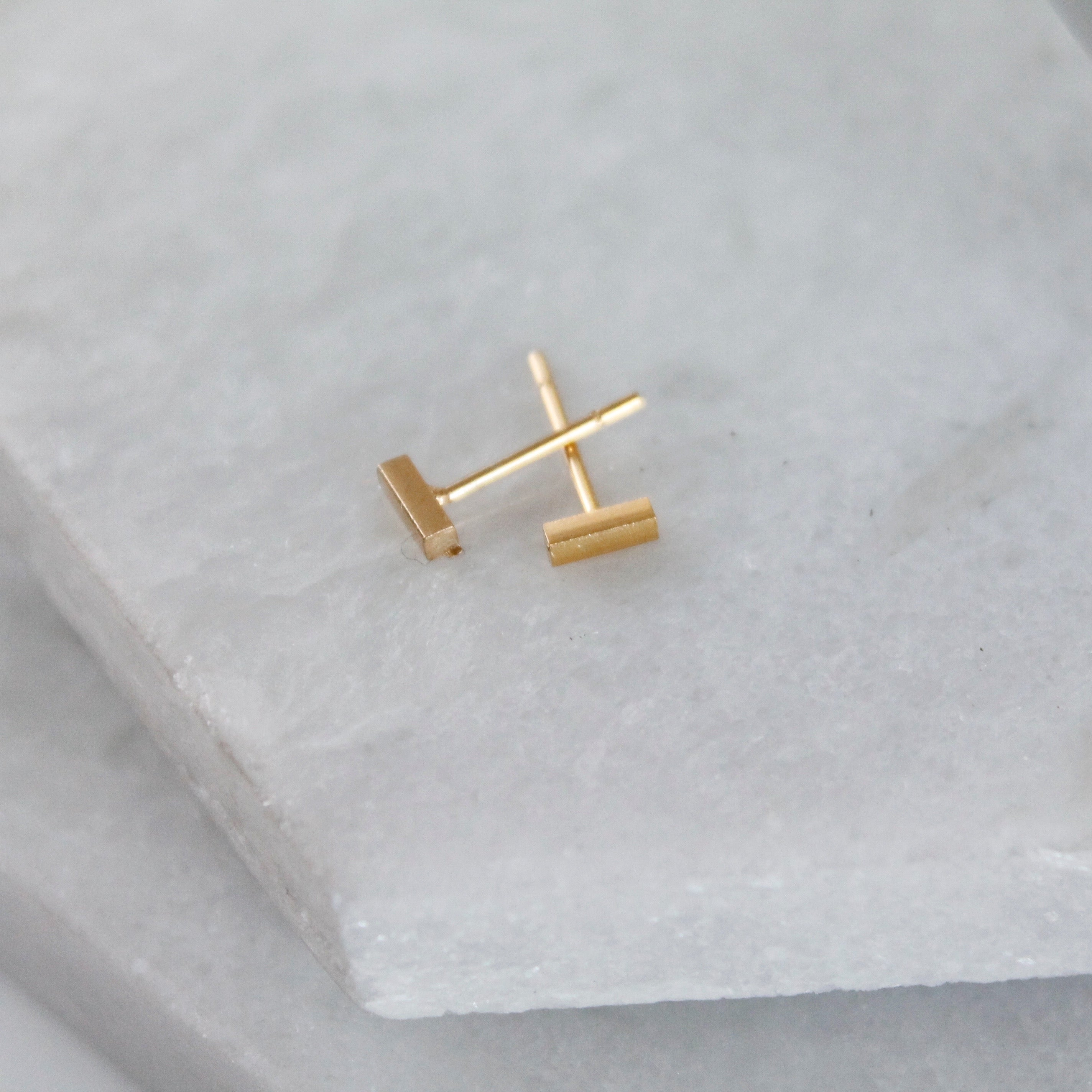 Minimalist Mini Bar Studs (Squared)