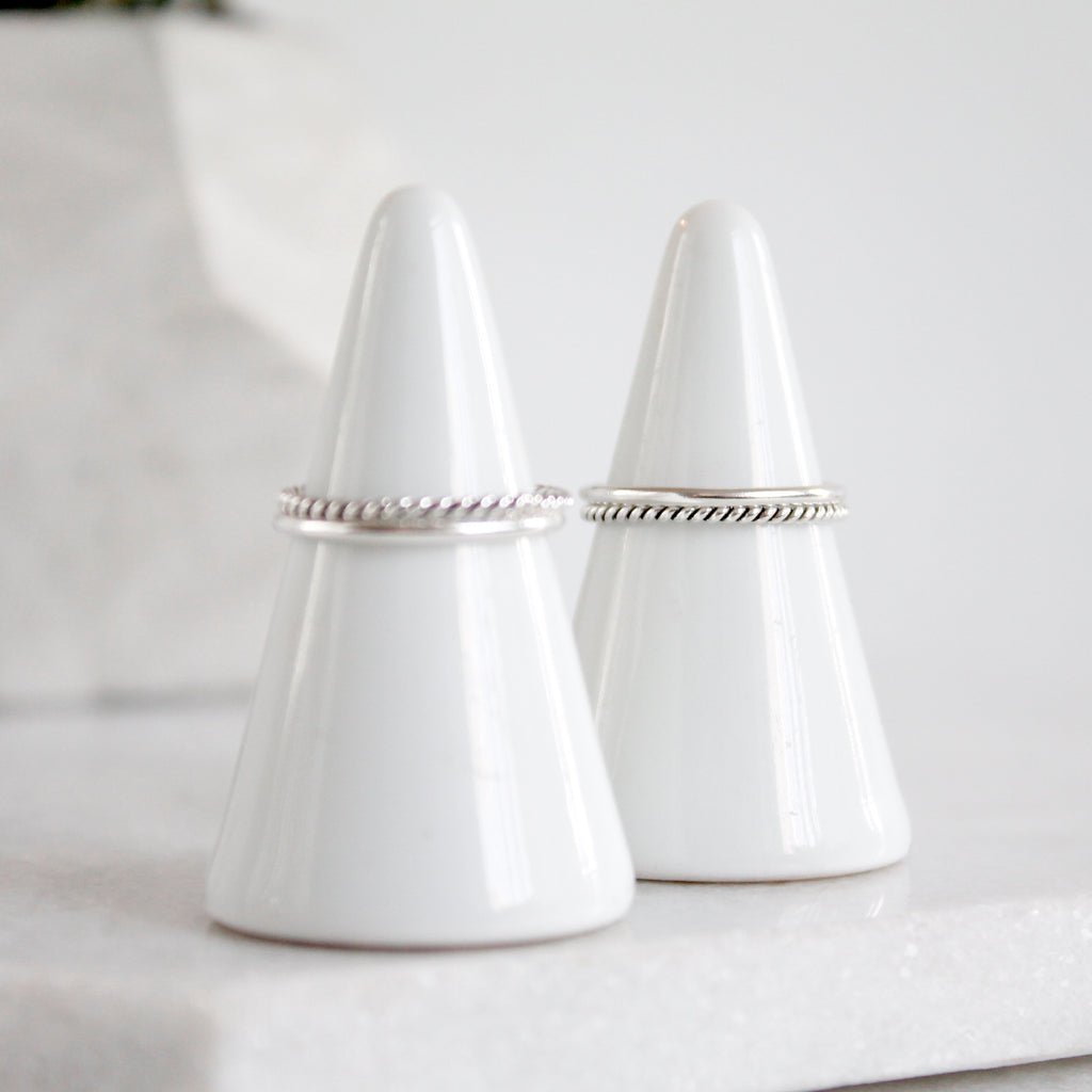 Anne & Gable Stack Rings