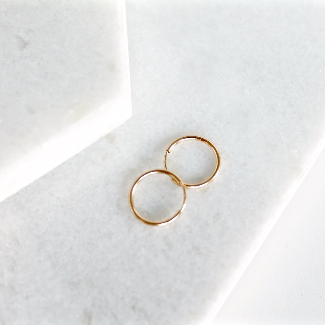 Sleek Hoops (Slightly Smaller)