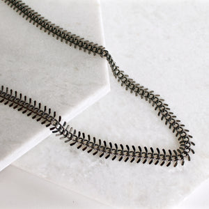 Singapore Fishtail Necklace